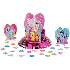 my pony centerpieces my pony friendship centerpiece kit walmart