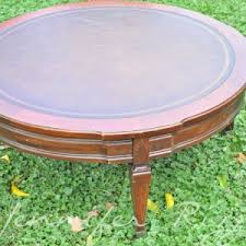 round tufted coffee table furniture charming round ottoman coffee table for your living room