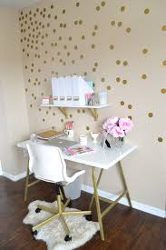 gold leaf home decor home office white home office with glam gold leaf desk hgtv