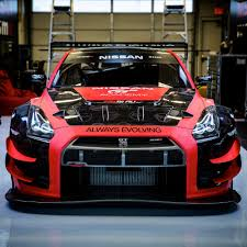 nissan race car racing hype always evolving racing team bringing two nissan gt r