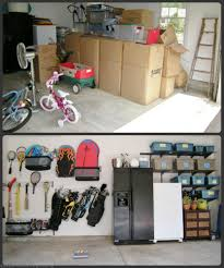 How To Organize Garage - organized garages or how not to have snow cone on wheels