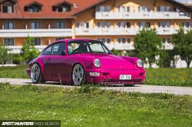 pink porsche interior pretty in not pink a 964 built to drive low speedhunters