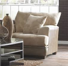 oversized chairs for living room oversized chair in toast fabric by jackson furniture 4442 01 t
