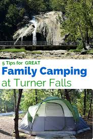 5 tips for fun turner falls camping in oklahoma little family