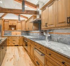 Cinnamon Kitchen Cabinets With Chocolate Glaze Phoenix AZ - Kitchen cabinets phoenix az