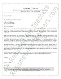 special education cover letter gse bookbinder co