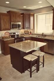 Knotty Kitchen Cabinets Simple Rustic Knotty Alder Kitchen Cabinets Features Straight