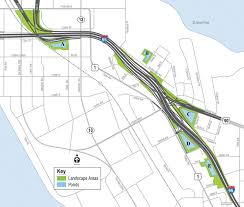 I 95 Map Fdot Hears Concerns About Proposed Overland Bridge Landscaping