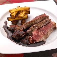 panais cuisine recette côte de bœuf sauce écarlate et frites de panais cuisine