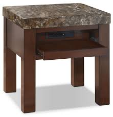 Pull Out Table Emerson End Table With Pull Out Tray The Brick