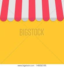 Striped Awning Striped Store Awning Shop Vector U0026 Photo Bigstock