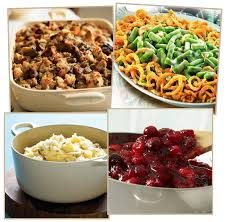 thanksgiving side dishes calories