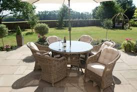 Round Patio Dining Set Seats 6 - 6 seater rattan garden furniture descargas mundiales com