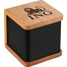 wood bluetooth speaker gorilla marketing promotional products