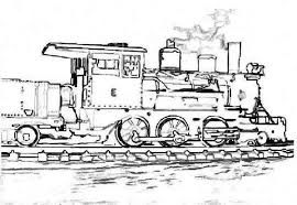 Steam Locomotive Coloring Pages Sketch Of Steam Train Coloring Page Netart by Steam Locomotive Coloring Pages