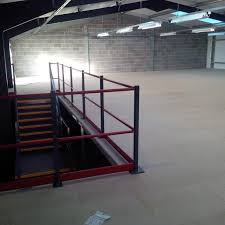 outdoor mezzanine outdoor air cooled chillers berg chilling