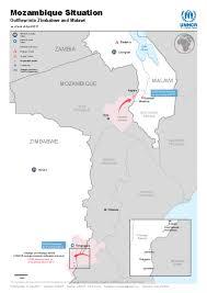 Mozambique Map Document Map Mozambique Situation