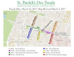 Metro Pcs Map Coverage by Parade Day U2013 Greater New Haven St Patrick U0027s Day Parade