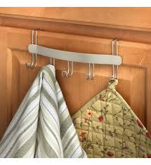 Kitchen Towel Racks For Cabinets Over The Cabinet Door Towel Holder In Kitchen Towel Holders