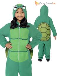 kids turtle costume all in one child boys world book week day