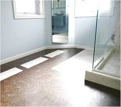 cork floor in bathroom eco friendly and durable bathroom flooring