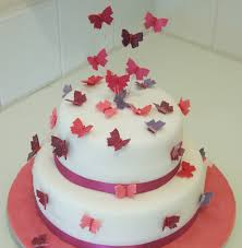 butterfly cake pink butterfly cake fondant cakes in lahore free delivery