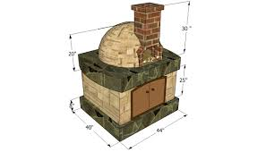 wood brick oven design pizza oven free plans howtospecialist