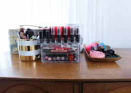 Makeup Organizer Desk by Home Design Makeup Organizer Box Target Ironwork Building