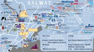 Map Ireland Galway Medtech Map Ireland U0027s Medical Device Cluster Technology