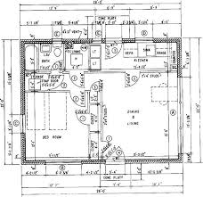 House Floor Plan With Measurements 11 Simple House Floor Plans With Measurements Square Architectural