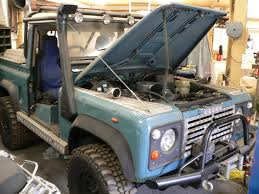 land rover defender off road modifications modified land rover defender engine benington 4x4 centre
