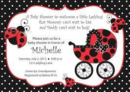ladybug baby shower ideas ladybug baby shower invitations diabetesmang info