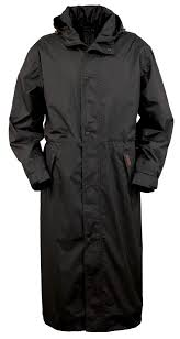 outback trading co pak a roo duster mens coat black waterproof