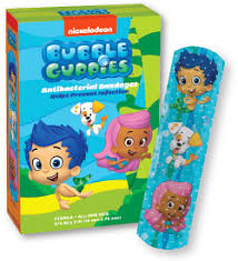 bubble guppies bandages kids love stickers medibadge