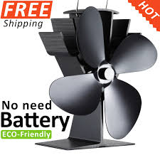 Cheap Wood Burning Fireplaces by Online Get Cheap Wood Stove Heat Fan Aliexpress Com Alibaba Group