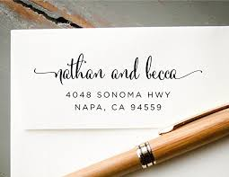 calligraphy for wedding invitations self inking calligraphy font return address st