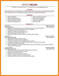 100 food service resume template accounting information systems