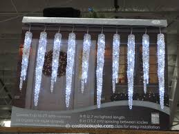 ge led icicle lights costco ge twinkling led icicle set