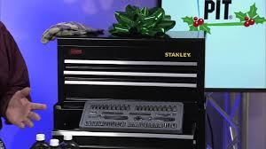 stanley tool chest cabinet stanley mechanics tool rolling cabinet makes great holiday gift