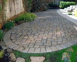 Paver Stones For Patios Slate Landscape Pavers Slate Patio Slate Cobbled Edge Slate Patio