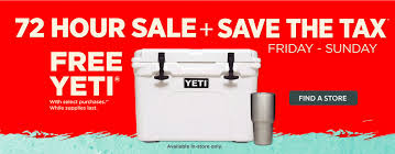 yeti coolers black friday sale save the tax sale