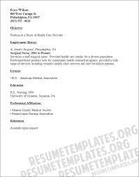 Experienced Rn Resume Sample Resume Template Nurse Get 10 Premium Nursing Resume Templates