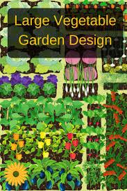 Vegetable Garden Planting Calendar by Large Vegetable Garden Design Backyard Garden Lover