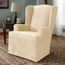 Elegant Chair Covers Inspire Wing Back Chair An Elegant Chair To Provides A Classic