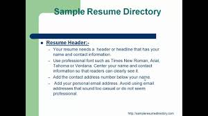 Best Font For Resume Verdana by How To Write A Icu Nurse Resume Mp4 Youtube