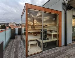 balkon und terrasse beta wellness sauna balkon terrasse beta wellness