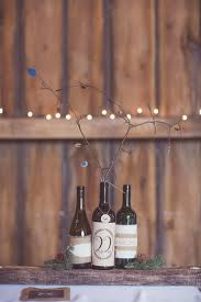 Wine Bottle Centerpieces Diy Rustic Wine Bottle Centerpieces Signed By Soden