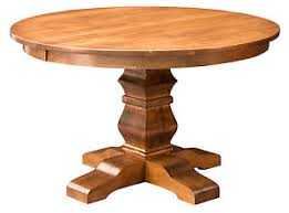 rustic round pedestal dining table amish round pedestal dining table solid wood rustic expandable 48