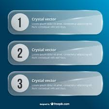 crystal banner templates vector free vector download in ai
