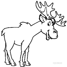 dk coloring pages moose coloring pages getcoloringpages com